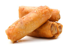 Egg rolls Royalty Free Stock Photos