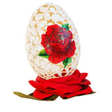 Egg rose Royalty Free Stock Photo