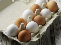 Egg's box Royalty Free Stock Photography