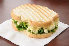 Egg salad sandwch royalty free stock photography