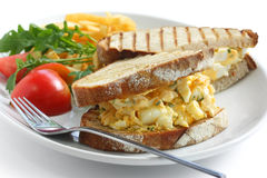 Egg salad sandwich Stock Image