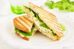 Egg Salad Sandwich. Stock Photo