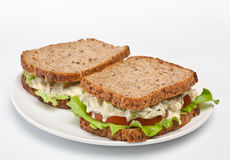 Egg salad sandwiches Stock Photo
