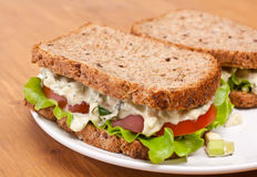 Egg salad sandwiches Stock Photos