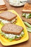 Egg Salad Sandwiches Stock Photo