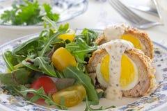 Scottish Egg. stock photos