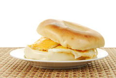 Egg sandwich Stock Photos