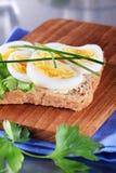 Egg sandwich Stock Images