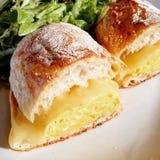 Egg Sandwich Brunch Stock Image