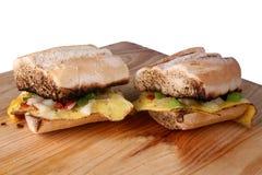 Egg Sandwich Stock Image