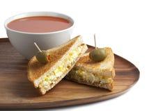 Egg sandwich Royalty Free Stock Photos
