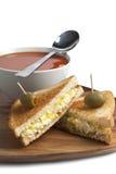 Egg sandwich Royalty Free Stock Photography
