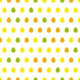 Egg seamless pattern Stock Photography