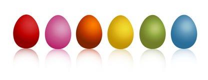 Egg set Royalty Free Stock Photo