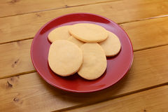 Egg shaped biscuits for Easter Stock Images