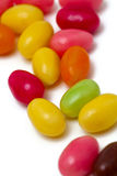 Egg-shaped candies Stock Image