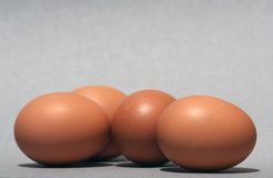 Egg shapes royalty free stock images
