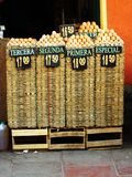 Egg shop. In Potosi (Bolivia Stock Photo