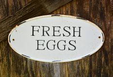 Egg sign Royalty Free Stock Image