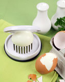 Egg Slicer royalty free stock photography