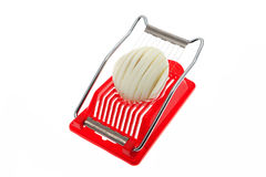 Egg slicer Stock Image