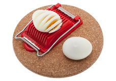Egg slicer Royalty Free Stock Images