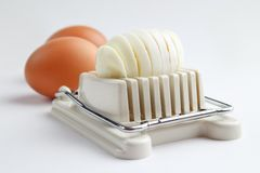Egg slicer Stock Images