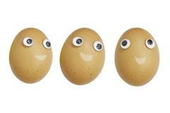 Egg smile Royalty Free Stock Photos