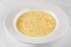 Egg soup Royalty Free Stock Photography