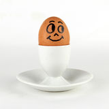 Egg on a stand Royalty Free Stock Photos