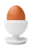 Egg on a stand Stock Photos