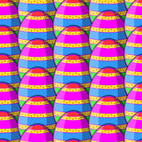 Egg Striped Pattern Stock Image