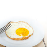 Egg sunny side up Stock Images
