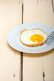 Egg sunny side up Royalty Free Stock Photography