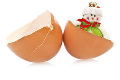 Egg  surprise Stock Image