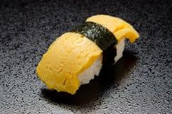 Egg sushi Stock Photo