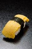 Egg sushi Royalty Free Stock Image