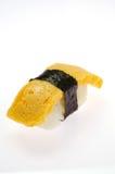 Egg sushi Royalty Free Stock Photos