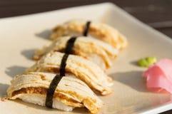 Egg Sushi Stock Images