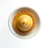 Egg tart Stock Photo