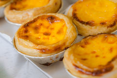 Egg tart bakery Royalty Free Stock Photo