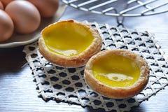 Egg tart Royalty Free Stock Photos