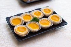 Egg Tart or Egg Custard tart Stock Photo
