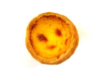Egg tart. Hot egg tart from portugal Stock Images