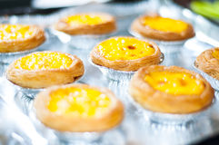 Egg tart Royalty Free Stock Photos