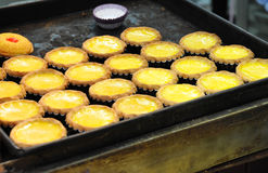 Egg Tarts Stock Photos