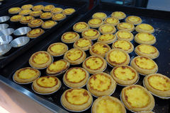 Egg tarts Royalty Free Stock Images