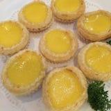 Egg Tarts Royalty Free Stock Photography