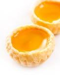 Egg tarts sweet custard pie desserts Royalty Free Stock Photos