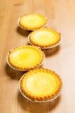 Egg tarts Royalty Free Stock Images